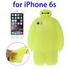 Phone Accessories 2015 Baymax Pattern Protective Silicone Case for iPhone 6s