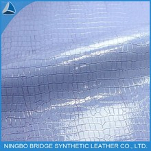 1403004-4809-7 Ningbo Bridge Free Sample Available Shoes Materials of Embossed PU Leather