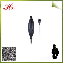 best selling walkie talkie/phone ear bud microphone