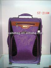 2013 purple beautiful new designer luggage