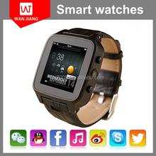 2015 best smart watch 3G wifi GPS waterproof Android 4.0 mobile watch