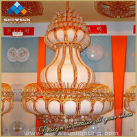 Mosque crystal chandelier lighting