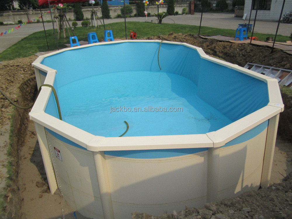 Strong Material Inground Pool Rubber Floor For Pool Swimming Pool Plastic Liner Buy Inground