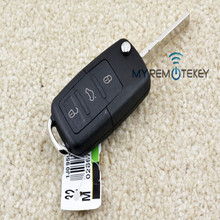 Remote flip Key case 434mhz 959 753N 3button for VW flip key