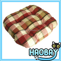 2014 New Pet Products Colorful Lattice Round Corner Luxury Designer Pet Dog Beds