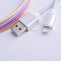USB 2.0 MFI USB charging cable for i Phone 6 Plus and 5 Original