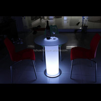 New Design Interactive LED Bar Table LED Cocktail Table HC-L016