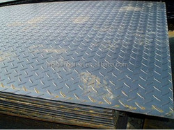 Supply Q235 Hot Rolled Chequered Steel Plate for building