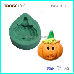 Halloween Pumpkins Cake Decoration Mold Silicone Sugar Craft Fondant Mold