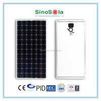 Long lifetime,automatic line monocrystalline 200w solar panel with TUV/CE/CEC/IEC/PID/ISO certificate