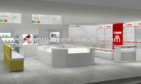 alibaba china cell phone accessory store display shelf mobile phone store interior design