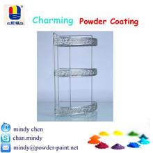 IKEA silver chrome effect epoxy/polyester powder coating for furnishing