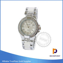 Vogue Quartz Fashion Silver Lady Watch