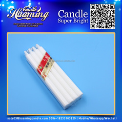 wholesale paraffin candle wax/white candles and huaming candle 8g to 90g