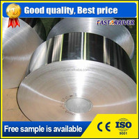 Good price color coated 8011 O food grade jumbo aluminum foil