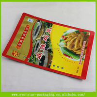 Customized Vivid Printed Food Packaging Plastic Bag For Chicken Claw