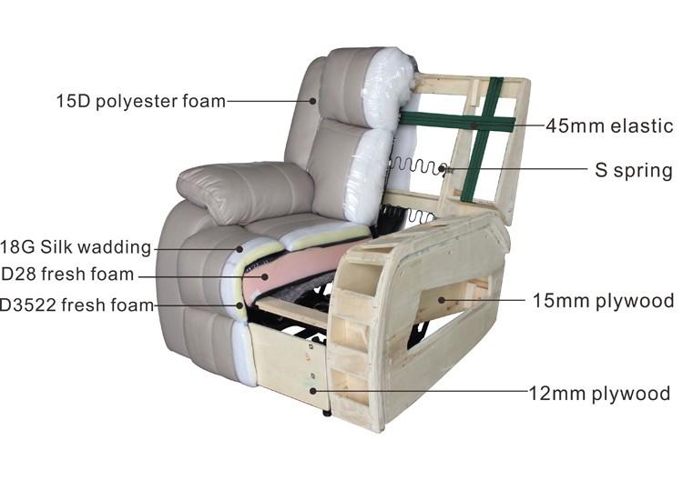 홈 가구 거실 소파 세트 코너 패브릭 소파 침대 Zoy 9609A-거실 소파 ...