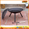 Easy to use outdoor cast Iron wood burning fire bowl