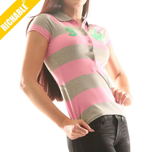 2014 Wholesale Popular Lady Sport Breathable Polo T shirt