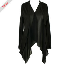 blusas de moda para las mujeres túnica de gasa señoras trajes
