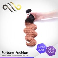 quality guaranteed simple remy ombre 1b 30 long black hair extensions with burgundy highlight