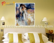 Abstract Painting Men Women Sex Picture for Living Room