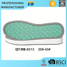 Hot sale boys eco-friendly Rubber outdoor ladys outsole tpr soles for woman shoes