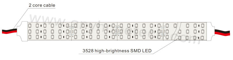 3528-180leds-three linesIP20-2