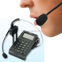 super mini conference headset telephone set