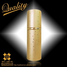 Golden classic empty bottle for sale air perfume spray