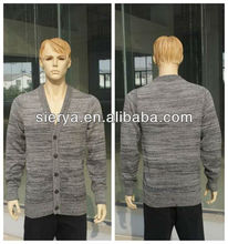 men's fashion cardigan sweater with buttons