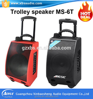 New Products for 2015, Portable Speaker Support FM Radio /USB/ SD Card/Guitar Slot with Rechargeable Battery