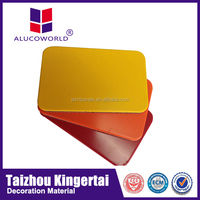 2015 new product acp panel facade building material for modern kitchen cabinets