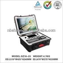Lightweight handheld cased with IP67 protection tool case