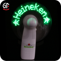 Art Craft Powered Logo Printed Message Fan Cooling Cooler Fans