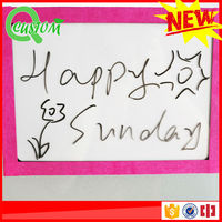 funny paper craft photo frame 2014 with magnetic marker pen