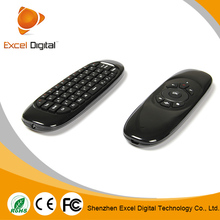 Wireless Mini Bluetooth Keyboard and Flying Air Mouse keyboard 2.4GHz using in PC/TV