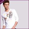 man white v neck t- shirt/plain t shirt low price/bulk blank t-shirt on sale