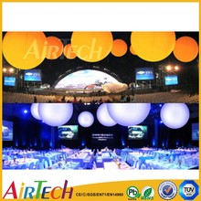 Party decoration lighting balloon, inflatable lighting for big event,lighting balloon with led