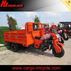heavy duty cargo motorcycle 3 wheels/water cooled engine cargo tricycle