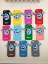 Monster 3D Cute Silicone Soft Phone Case For Apple iPhone 4/5/6