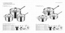 saucepan fry pan LISHI stainless steel cooking pot soup pot hotel supplies/ kitchen utensil