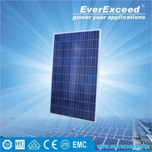 EverExceed 75W Polycrystalline Solar Panel with TUV/VDE/CE/IEC Certificates for customized solar system