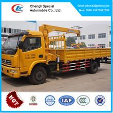 DFAC 3 ton crane truck, 3ton truck crane