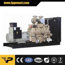 Industrial use 900 kw 1125kva Open Type Generator set use fuel diesel