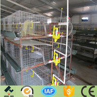 China manufacture hot sale broiler battery cage for poultry house