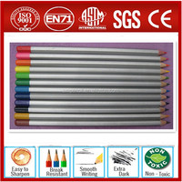 "Top quality Hex 7"" color pencil (meet EN71,ASTM-D4236 ,F963 inspection standard),OEM manufactory"