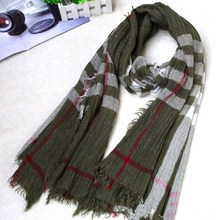 RS0116 thick striped fake fur knitted Scarf