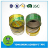 Custom super clear bopp packing adhesive tape with customer brand