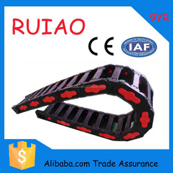 RUIAO TEZ25 *38k2 nice price CE flexible drag chain cable link for machine center